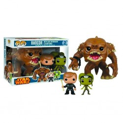 RANCOR WITH LUKE SKYWALKER AND SLAVE DOLA (PACK 3)