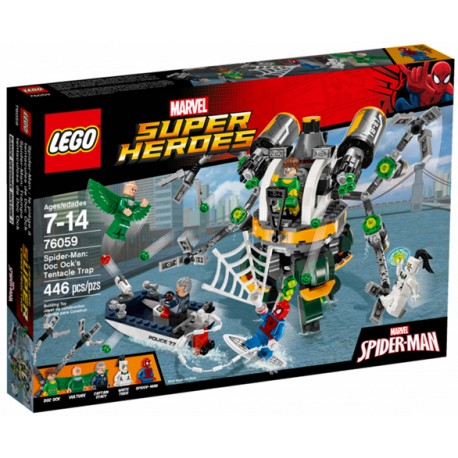 76059 Spider-Man: Trampa tentaculosa de Doc Ock