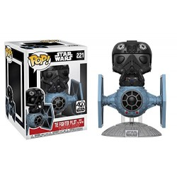TIE FIGHTER PILOT WITH TIE FIGHTER (221)
