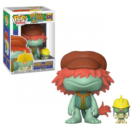 FRAGGLE ROCK - BOOBER WITH DOOZER (520)
