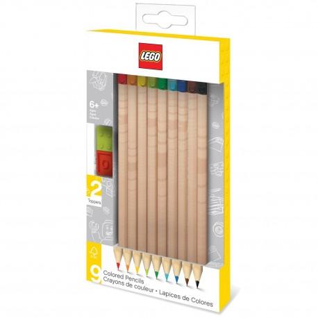 Pack de 9 lápices de colores