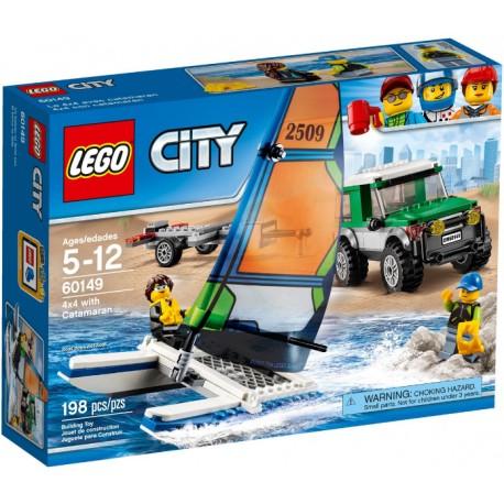 60149 4x4 con catamarán