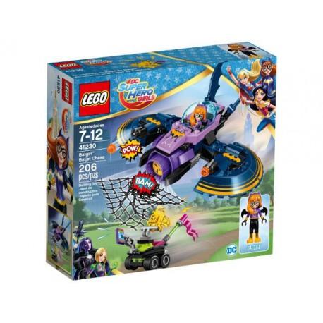 41230 Persecución en el batjet de Batgirl