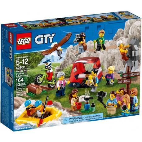 60202 Pack de minifiguras: Aventuras al aire libre