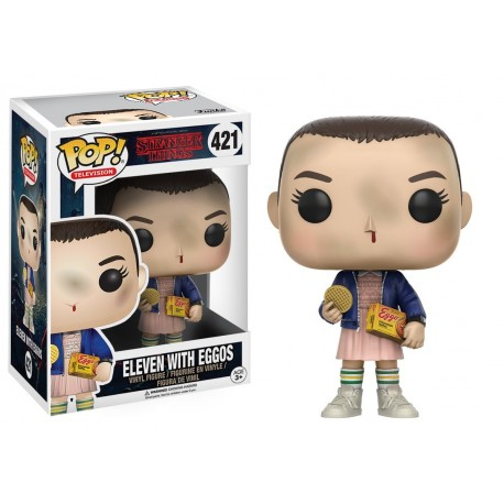 STRANGER THINGS - Eleven with Eggos (421)