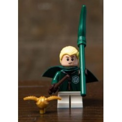 Draco Malfoy in Quidditch Robes