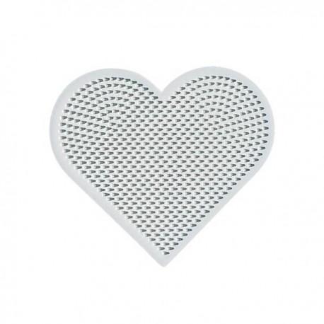 591 Placa con forma de corazón mini