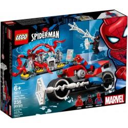 Rescate en Moto de Spider-Man