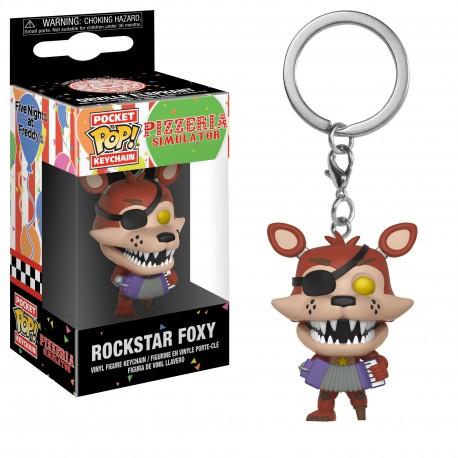 LLAVERO POP! ROCKSTAR FOXY