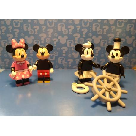 PACK DISNEY MICKEY Y MINNIE MOUSE