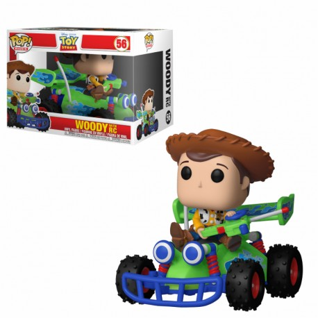 TOY STORY - WOODY WITH RC