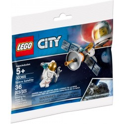 30365 POLYBAG CITY - SPACE SATELLITE