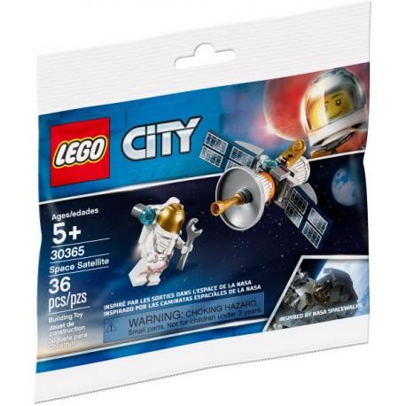 30365 POLYBAG CITY - SPACE SATELLITE