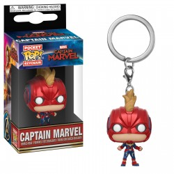 LLAVERO POP! CAPTAIN MARVEL