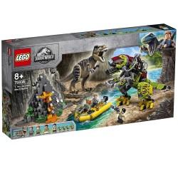75938 T. Rex vs Dinosaurio Robótico