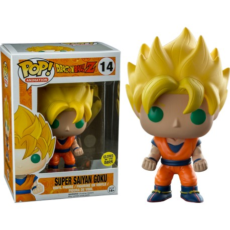DRAGON BALL Z - SUPER SAIYAN GOKU GLOW (14)