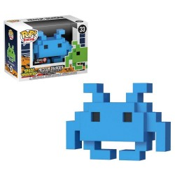 8-BIT - MEDIUM INVADER (33) - AZUL