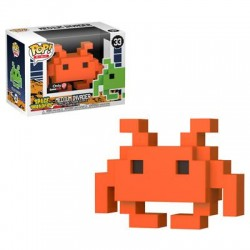 8-BIT - MEDIUM INVADER (33) - NARANJA