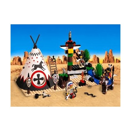 6746 Wild West Chief´s Tepee