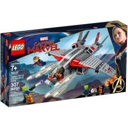 76127 Capitana Marvel: Ataque de los Skrulls
