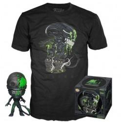 Alien POP! & Tee Set 40th Xenomorph TALLA M