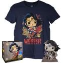 DC Jim Lee POP! & Tee Set Wonder Woman Exclusive TALLA L