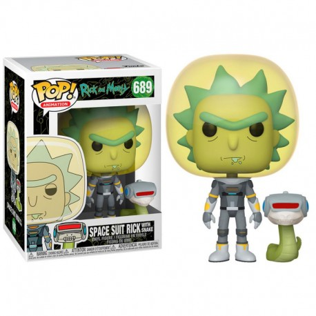 Space Suit Rick with Snake (689)