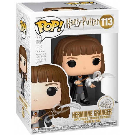 FUNKO POP HARRY POTTER - Hermione with Feather (113) CAJA