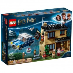 LEGO HARRY POTTER 75968 Número 4 de Privet Drive CAJA