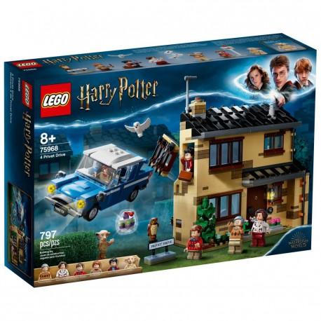 LEGO HARRY POTTER 75968 Número 4 de Privet Drive CAJA