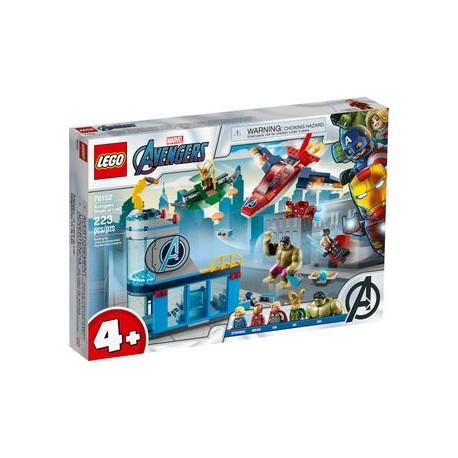 LEGO Marvel 76152 Vengadores: Ira de Loki caja