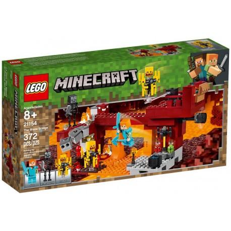 LEGO Minecraft 21154 El Puente del Blaze caja