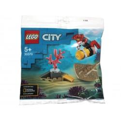 30370 POLYBAG  CITY Deep Sea Diver