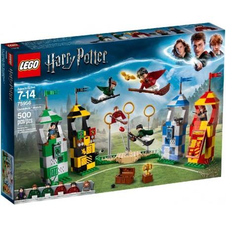 LEGO HARRY POTTER 75956 Partido de Quidditch caja