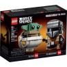 LEGO STAR WARS 75317 BRICKHEADZ EL MANDALORIANO Y EL NIÑO (Próximamente)