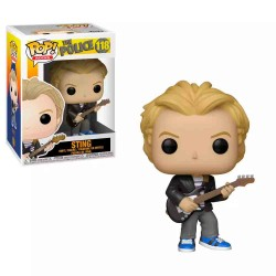 FUNKO POP ROCKS - THE POLICE - STING (118)