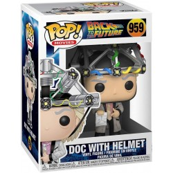 FUNKO POP MOVIES BACK TO THE FUTURE - DOC WITH HELMET (959)