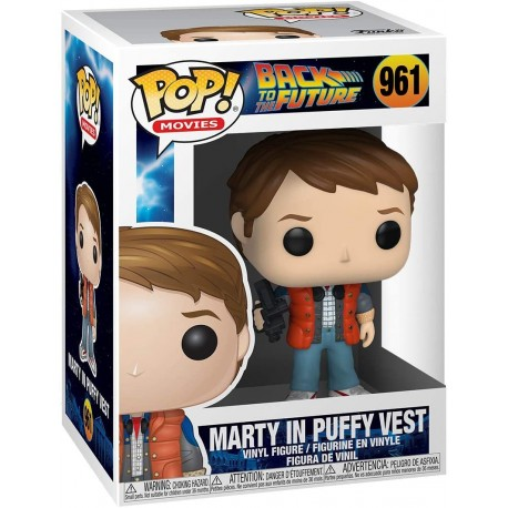 FUNKO POP MOVIES BACK TO THE FUTURE - MARTY IN PUFFY VEST (961)