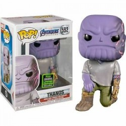 FUNKO POP MARVEL AVENGERS ENDGAME - THANOS WITH DETACHABLE ARM EXC (592