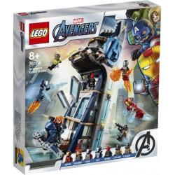 LEGO MARVEL 76166 Batalla en la Torre de los Vengadores CAJA