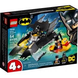 LEGO DC 76158 Caza del Pingüino en la Batlancha