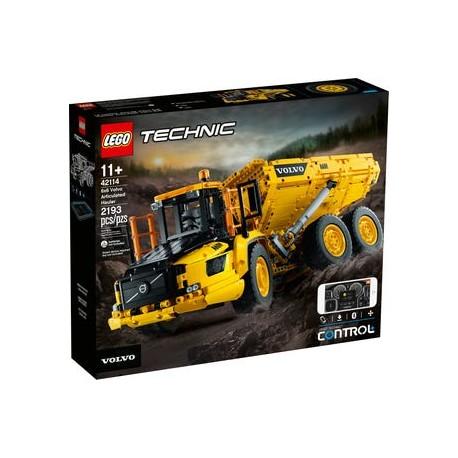 LEGO TECHNIC 42114 DUMPER ARTICULADO 6x6 CAJA