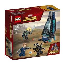 LEGO Marvel 76101 Ataque de la nave de los Outriders