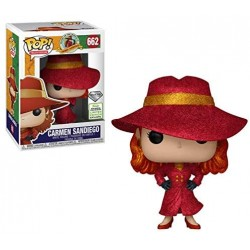 FUNKO POP ANIMATION Carmen Sandiego EXC Spring Convention 2019 Diamond (662)