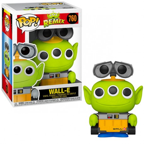 FUNKO POP DISNEY ALIEN REMIX WALL-E (760)