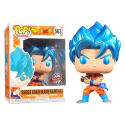 FUNKO POP DRAGON BALL SSGSS GOKU (KAMEHAMEHA) (563) ESPECIAL EDITION
