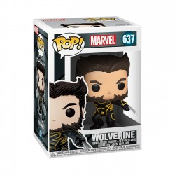 FUNKO POP MARVEL X-Men 20th Anniversary Wolverine In Jacket (637)