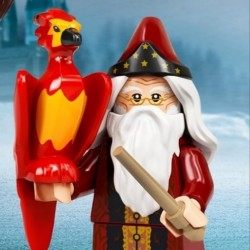 LEGO MINIFIGURAS SERIE HARRY POTTER 2 - Dumbledore