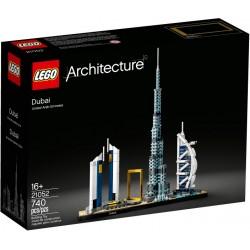 LEGO Arquitectura 21052 Dubái caja