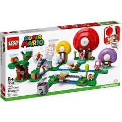 LEGO Super Mario 71368 Set de expansión: Caza del Tesoro de Toad
